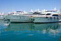 Luxury Yachts In Harbor Antibes, France Stock Photography - 26214732