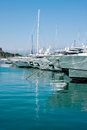 The Harbor Antibes, France Stock Images - 26214734