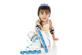 Girl Roller Stock Photos - 26215663