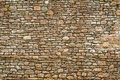 Old Ancient Wall Made From Stone Royalty Free Stock Photography - 26230787
