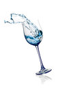 Glass With Splashes Of Water Stock Photography - 26231402