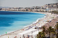 The French Riviera Nice France Beach Stock Image - 26240851