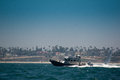 Los Angeles Harbor Patrol Boat Royalty Free Stock Photos - 26243528