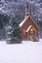 Church In Winter Royalty Free Stock Photography - 26261337