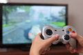 Playing Video Game Stock Photography - 26270142