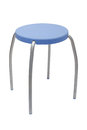 Blue Seat Stool Royalty Free Stock Images - 26270459