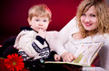 Mother And Young Baby Boy Stock Image - 26276711