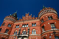 Helsingborg In Sweden:  (town Hall) Stock Photo - 26280450