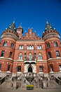 Helsingborg In Sweden:  (town Hall) Stock Photo - 26280490