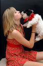 Puppy Kisses Stock Image - 2639961
