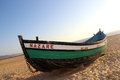 Nazare Typical Boat Royalty Free Stock Images - 26302469