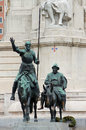 Cervantes Monument Royalty Free Stock Photography - 26310357