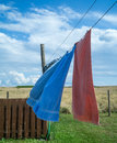 Clothes Drying On The Line Stock Image - 26318611