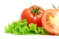 Tomato Vegetable And Lettuce Salad Royalty Free Stock Photos - 26319878