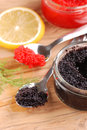 Red And Black Lumpfish Roe Royalty Free Stock Image - 26330626