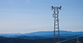 Telecommunications Antennas Tower Royalty Free Stock Images - 26330699