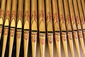 Organ Pipes Close-up Royalty Free Stock Images - 26336329