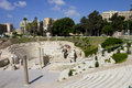 Central Part Of The Alexandria Roman Theater Stock Images - 26336334