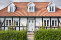 Half-timbered House In Denmark Stock Images - 26340454