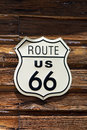 Route 66 Sign Stock Photography - 26345492