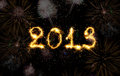 2013 Made Of Sparks Stock Images - 26353304