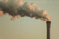 Air Pollution From A Factory Pipe Royalty Free Stock Photography - 26359847