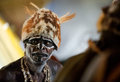 Portrait Of The Asmat Man Royalty Free Stock Photos - 26381968