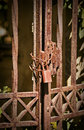Rusty Gate Royalty Free Stock Photography - 26389207
