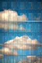 Sky Reflected In Glass Royalty Free Stock Photos - 26394648