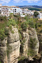 Houses On A Cliff In Ronda Stock Images - 26406764
