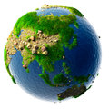 Detailed Concept Nature Of The Earth In Miniature Stock Photo - 26418340