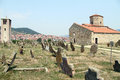 Graveyard And Church Royalty Free Stock Photography - 26423617