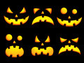 Halloween Smiley Faces Royalty Free Stock Images - 26428299