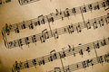 Vintage Classical Music Score Royalty Free Stock Photography - 26428367