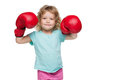 Boxing Girl Royalty Free Stock Image - 26428516