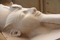 The Colossus Of Ramses II In Memphis, Egypt. Royalty Free Stock Images - 26436779