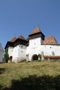 Viscri Fortified Church, Transylvania, Romania Royalty Free Stock Image - 26437236