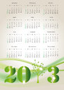 Calendar 2013 Royalty Free Stock Photo - 26444695