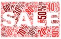 Sale Concept In Word Tag Cloud Stock Photo - 26454970