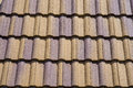 Ceramic Roof Tiles Royalty Free Stock Image - 26456206