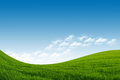 Green Field And Blue Sky Stock Images - 26459684