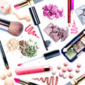 Make-up Set. Collage Stock Image - 26467341