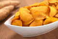 Sweet Potato Chips Royalty Free Stock Image - 26472286