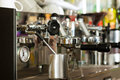 Coffee Machine In Cafe Or Bar Stock Photos - 26487013