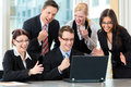 Businesspeople Have Team Meeting In Office Stock Photography - 26487052