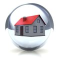 House In The Ball Royalty Free Stock Photo - 26488875