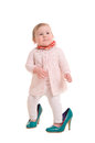 Child Into Adult Shoes Stock Photography - 26492482