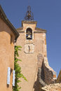 Tower In Village Of Roussillon (France) Stock Image - 26492591