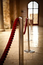 Red Barrier Rope Royalty Free Stock Images - 26499579