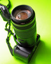 A Digital SLR With A Telephoto Stock Images - 2653554